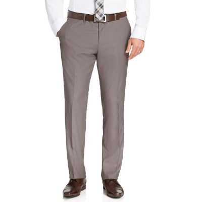 Fashion 4 Men - Tarocash Melnick Dress Pant Pebble 34