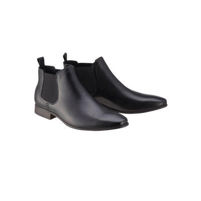 Fashion 4 Men - Tarocash New Acton Gusset Boot Black 7