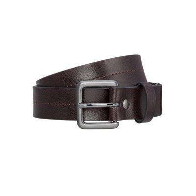 Fashion 4 Men - Tarocash New Acton Prong Belt Chocolate 34