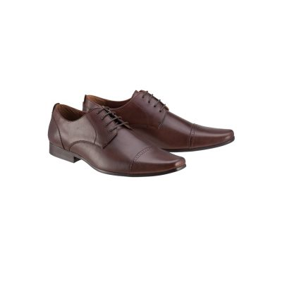 Fashion 4 Men - Tarocash Parsons Dress Shoe Chocolate 9