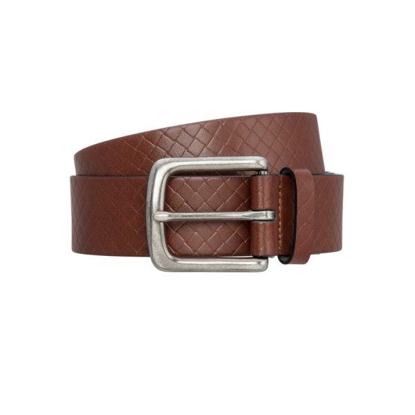 Fashion 4 Men - Tarocash Rex Prong Belt Tan 36