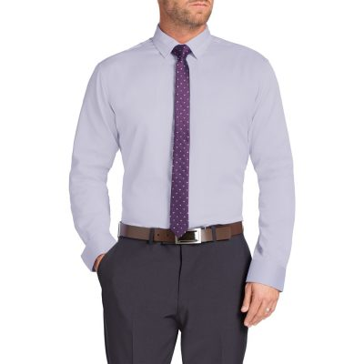 Fashion 4 Men - Tarocash Tobias Dress Shirt Lilac Xs