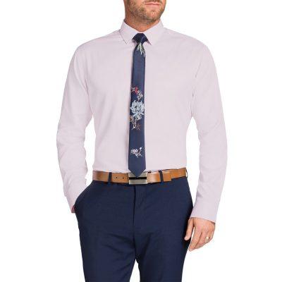 Fashion 4 Men - Tarocash Tobias Dress Shirt Pink Xs