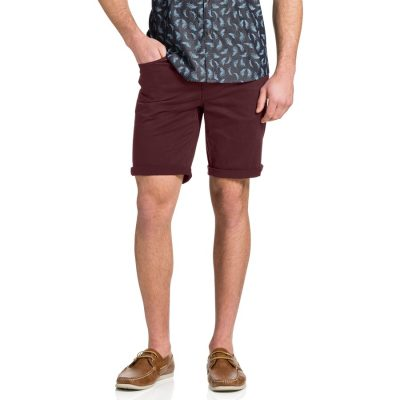 Fashion 4 Men - Tarocash Benji Stretch Short Wine 34