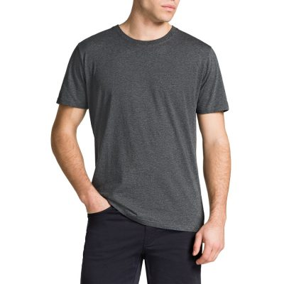 Fashion 4 Men - Tarocash Essential Crew Neck Tee Charcoal Marle L