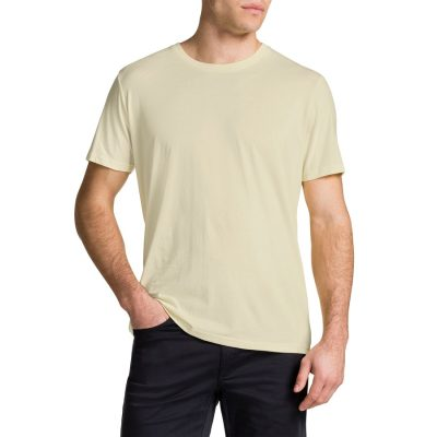 Fashion 4 Men - Tarocash Essential Crew Neck Tee Lemon Xxl