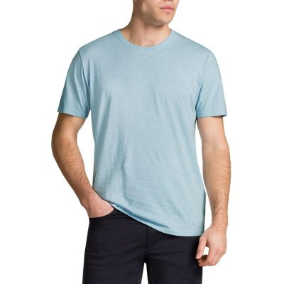 Fashion 4 Men - Tarocash Essential Crew Neck Tee Sky Marle Xl