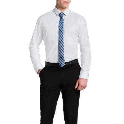 Fashion 4 Men - Tarocash Harper Textured Shirt White S