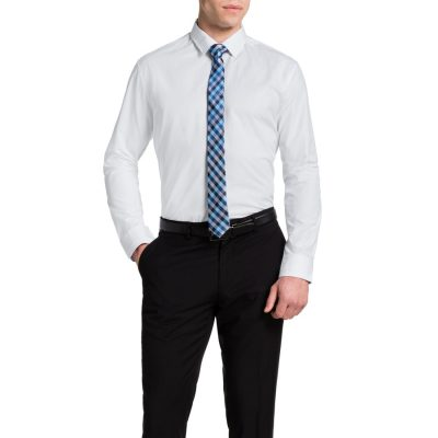 Fashion 4 Men - Tarocash Harper Textured Shirt White Xl