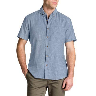 Fashion 4 Men - Tarocash Harrold Chambray Shirt Blue M