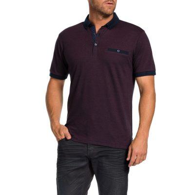 Fashion 4 Men - Tarocash Jeremy Polo Berry M