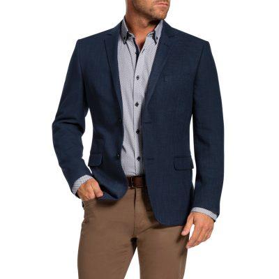 Fashion 4 Men - Tarocash Neill Textured Jacket Navy Xl