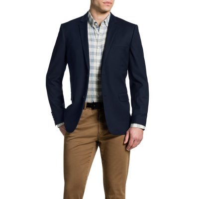 Fashion 4 Men - Tarocash Nolan Stretch Blazer Royal Xxxl