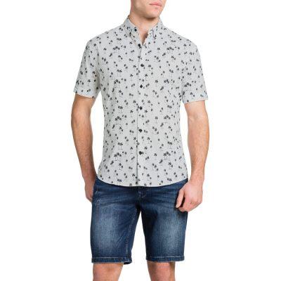 Fashion 4 Men - Tarocash Palm Springs Shirt Black M