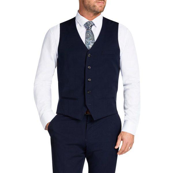 Fashion 4 Men - Tarocash Reddick Waistcoat Royal 4 Xl