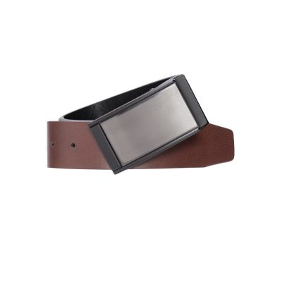 Fashion 4 Men - Tarocash Rick Reversible Belt Black Cognac 44