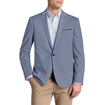 Fashion 4 Men - Tarocash Royce Textured Jacket Sky 4 Xl