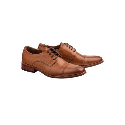 Fashion 4 Men - Tarocash Sandown Lace Up Shoe Tan 12