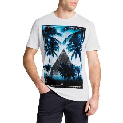 Fashion 4 Men - Tarocash So Cool Tee Blue S