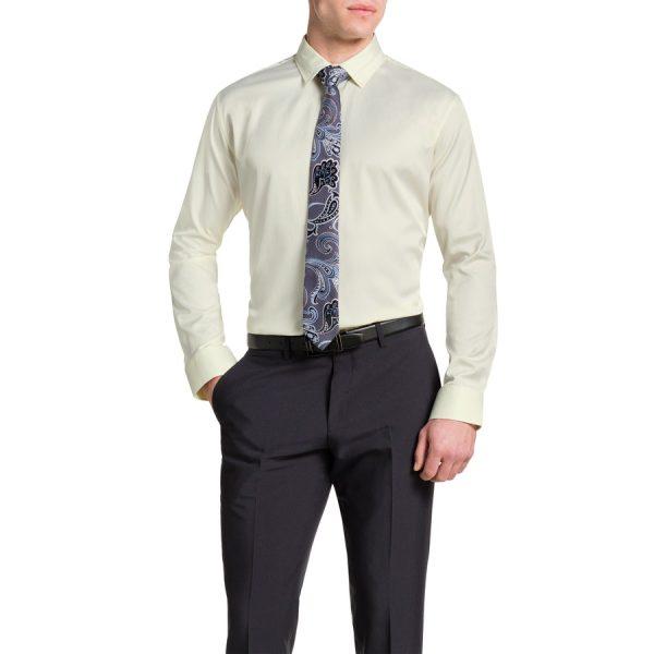 Fashion 4 Men - Tarocash Tobias Dress Shirt Lemon Xl