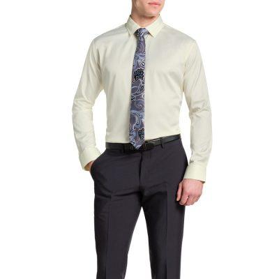 Fashion 4 Men - Tarocash Tobias Dress Shirt Lemon Xxl