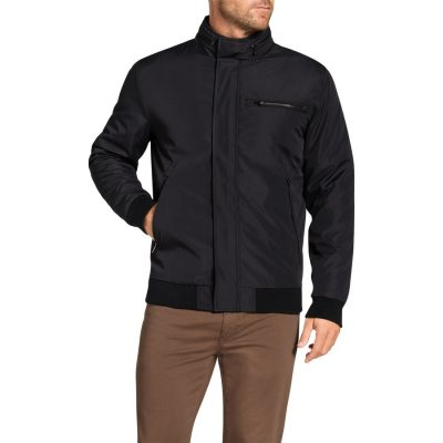 Fashion 4 Men - Tarocash Barron Zip Bomber Black L