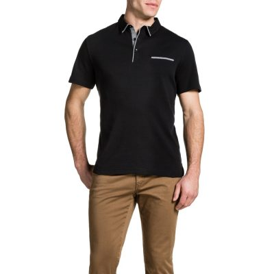 Fashion 4 Men - Tarocash Brighton Polo Black S