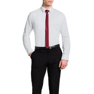 Fashion 4 Men - Tarocash Casino Jacquard Shirt White M