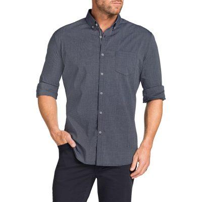 Fashion 4 Men - Tarocash Cool Cotton Shirt Charcoal M