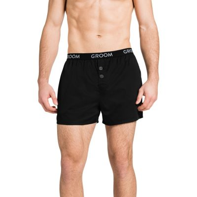 Fashion 4 Men - Tarocash Groom Boxer Short Black L/Xl