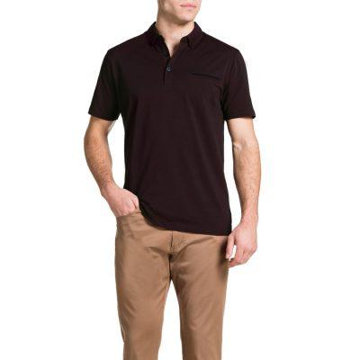 Fashion 4 Men - Tarocash Pique Polo Burgundy Xxl