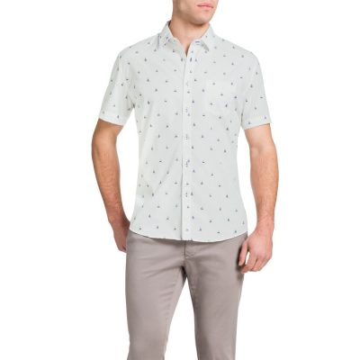 Fashion 4 Men - Tarocash Sail Away Shirt White Xxxl