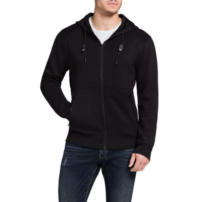 Fashion 4 Men - Tarocash Sebastian Zip Thru Jacket Black S