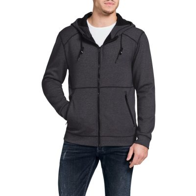 Fashion 4 Men - Tarocash Sebastian Zip Thru Jacket Charcoal Xxxl