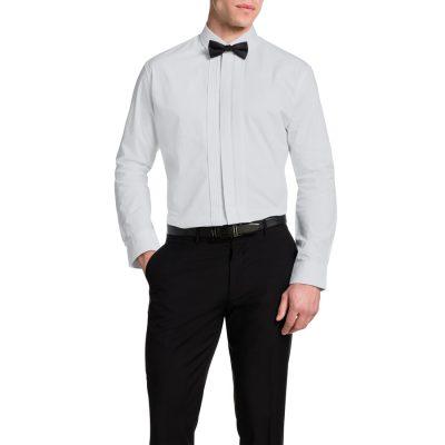 Fashion 4 Men - Tarocash Tuxedo Shirt White M