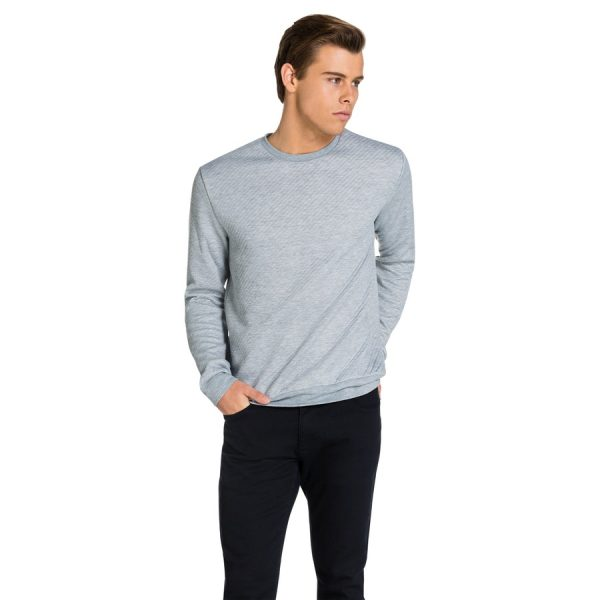 Fashion 4 Men - yd. Everest Pullover Grey M