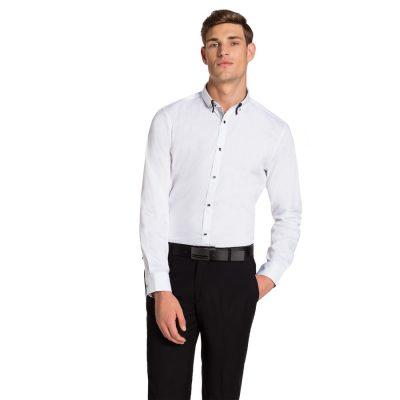 Fashion 4 Men - yd. Fresnaye Slim Fit Shirt White M
