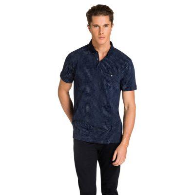 Fashion 4 Men - yd. Hendrick Polo Navy S
