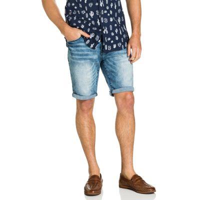 Fashion 4 Men - yd. Nile Denim Short Light Blue 33