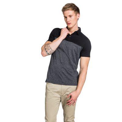 Fashion 4 Men - yd. Prince Polo Black Marle M