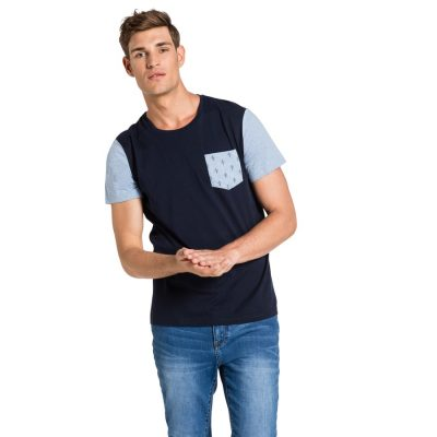 Fashion 4 Men - yd. Rodeo Tee Dark Blue Xl