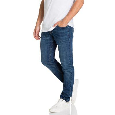 Fashion 4 Men - yd. Strike Skinny Jean Dark Blue 40