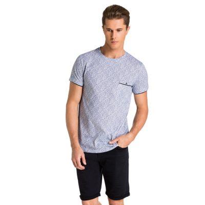 Fashion 4 Men - yd. Thorn Tee Blue 2 Xl