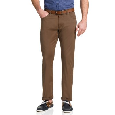 Fashion 4 Men - Tarocash Robson Stretch 5 Pkt Pant Mustard 33