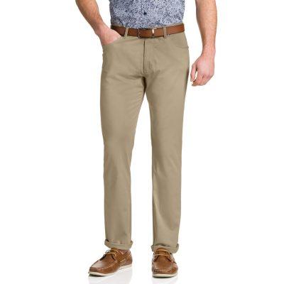 Fashion 4 Men - Tarocash Robson Stretch 5 Pkt Pant Sand 34