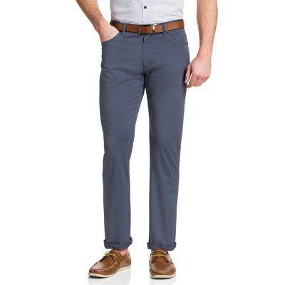 Fashion 4 Men - Tarocash Robson Stretch 5 Pkt Pant Slate 33