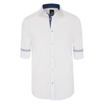 Fashion 4 Men - yd. Adan Slim Fit Shirt White Xxl