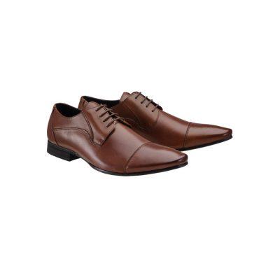 Fashion 4 Men - yd. Garbo Dress Shoe Brown 12