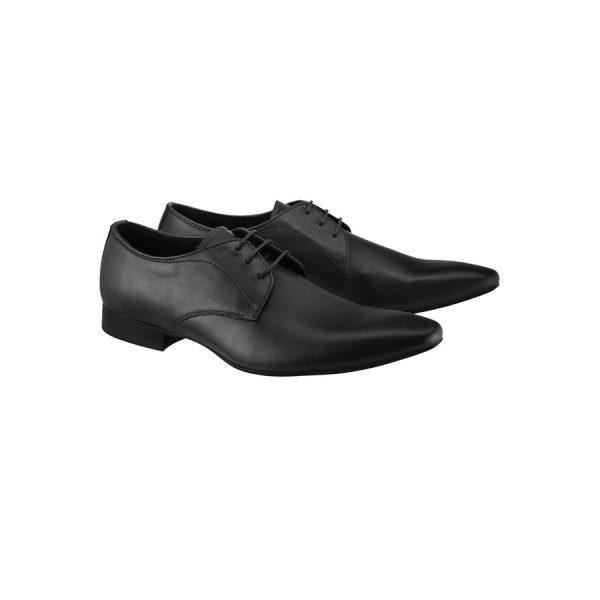 Fashion 4 Men - yd. Merc Leather Dress Shoe Black 12