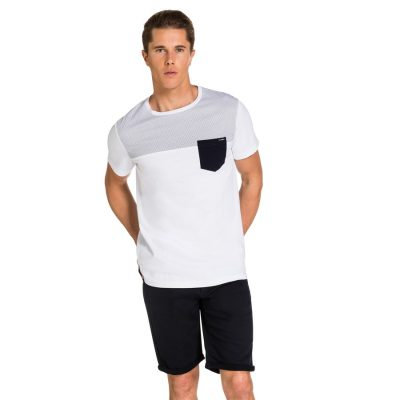 Fashion 4 Men - yd. Nikon Tee White L